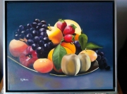 tableau fruits : ASSIETTE DE FRUITS