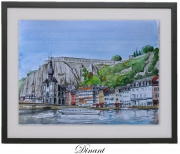 tableau paysages meuse dinant arden : DINANT